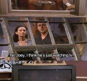 Ross Definitely Had His Moments