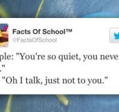 Facts Of School