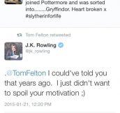 You Were Always Gryffindor