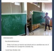 Epic Substitute Teacher