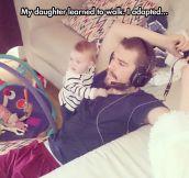 Fatherhood Is Full Of Tricks