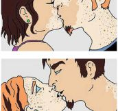 The Magic Of A First Kiss