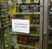 Chill Out Freezer