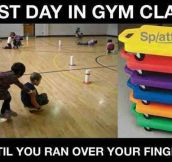 Best Part Of Gym Class