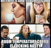 Coffee Temperature Truth