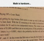 Math Is Useful If You're Dealing With The Mob