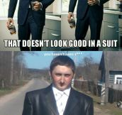 Men Look Good In Suits