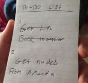 Useful To-Do List