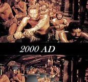 2000 BC vs 2000 AD