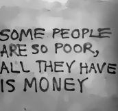 Poor People Nowadays