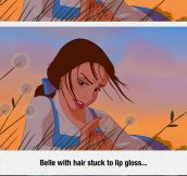 Disney Princesses With Realistic Hair