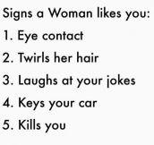 Know Her Signs