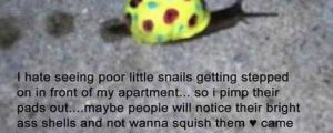 Let's Save The Snails
