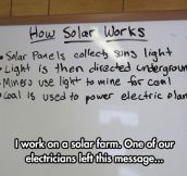 I Think We're Missing The Point Of Solar Energy
