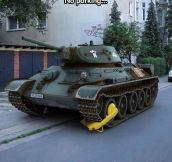 I Don't Care If You Have A Tank, You Can't Park There