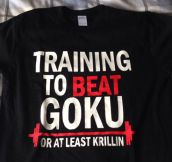 Best Gym T-Shirt Ever