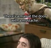 Man At The Door