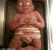 14 Creepy Baby Shower Cakes