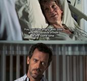 Not Many Can Win An Argument With House