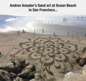 Sand Art Taken To The Next Level