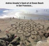 Sand Art Taken To The Next Level