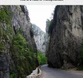 It's The Bicaz Canyon In Romania, Very Impressive