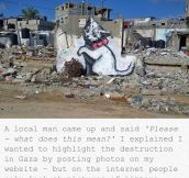 Banksy Speaking The Truth