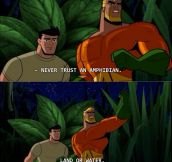 Aquaman Has Important Advice