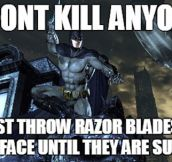Batman And His Logic