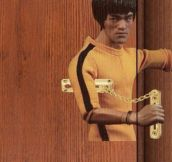 Bruce Lee Door Lock