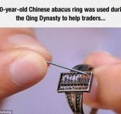 Chinese Abacus Ring