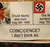 Coincidence? Maybe Not