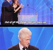 Bill Clinton And Jennifer Lawrence