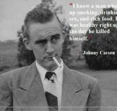 Johnny Carson's Wisdom