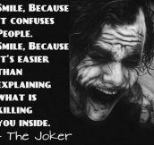 The Joker Philosophy