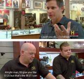 Watching Pawn Stars Be Like