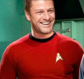 Sean Bean On Star Trek