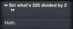 OK, Thanks Siri