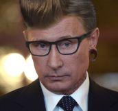 Hipster Vladimir Putin