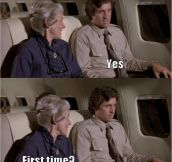 One Of The Best Lines From 'Airplane'