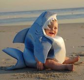 Baby Shark Is Happy