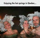 Quebec's Hot Spring