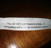 Fortune Cookie Doesn't Sugarcoat It