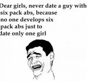 An Advice For All The Single Ladies Out There