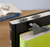 Hippo Bookmarks Are Cleverly Amazing