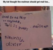 For The Mailman
