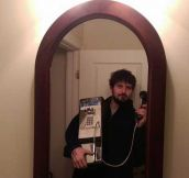 The Most Hipster Selfie Ever