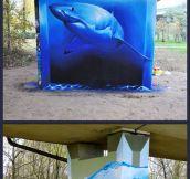 Shark Street Art
