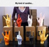 Hand Candles