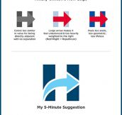 Hillary Clinton 5-Minute Logo Redesign
